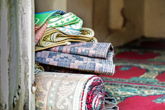 Teppiche Wadi Bani Habib Lizenzfreies Stockfoto