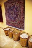 Teppichherstellung lizenzfreie stockfotos