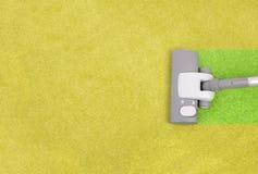 Teppichreinigung Lizenzfreies Stockfoto