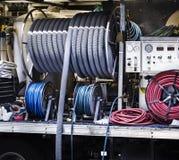 Teppichreinigungsmaschinerie lizenzfreie stockfotos