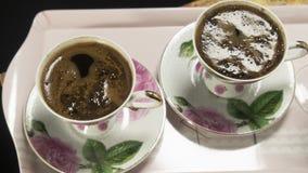 Tepside Turkish coffee stock image