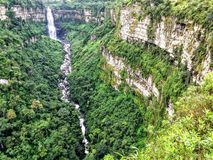 Tequendama Falls royalty free stock photography