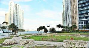 Tequesta艺术在迈阿密 免版税库存图片