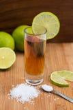 Tequila, ασβέστης και άλας Στοκ Φωτογραφίες