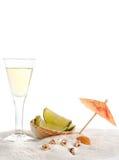 tequila γυαλιού παραλιών Στοκ εικόνες με δικαίωμα ελεύθερης χρήσης