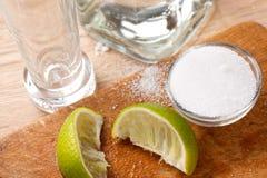 tequila питья Стоковая Фотография