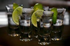 tequila съемок Стоковые Фото