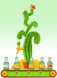Tequila stock illustratie
