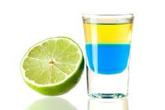 Tequila blu Immagine Stock Libera da Diritti