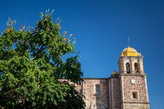 Tequila church. Jalisco, Mexico stock photo