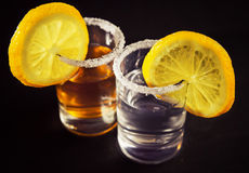 Tequila cocktail Stock Images