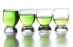 Tequila cups Stock Photography
