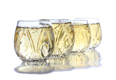 Tequila cups Royalty Free Stock Image