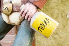 tequila de cowboy Photographie stock libre de droits