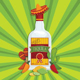 Tequila decoration Royalty Free Stock Photography