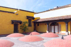 Tequila Distillery Courtyard Royalty Free Stock Image