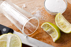 Tequila drink Stock Image
