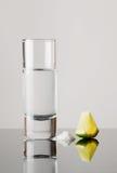 Tequila, lemon and salt Royalty Free Stock Image