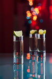 Tequila and lime Royalty Free Stock Photo