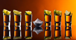 Tequila and lime Stock Photos