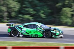 Tequila Patron racing Royalty Free Stock Image