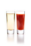 Tequila with Sangrita Chaser Stock Photography