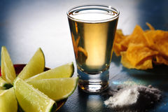 Tequila shoot Royalty Free Stock Image