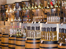 Tequila Shop Stock Photography