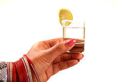 Tequila shot Stock Image