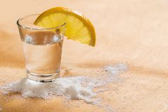Tequila shot Royalty Free Stock Photography