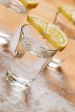 Tequila shots Royalty Free Stock Image
