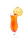 Tequila Sunris. cocktail. Royalty-vrije Stock Foto's