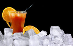 Tequila Sunrise Stock Image
