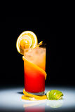 tequila sunrise Obrazy Royalty Free