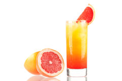 Tequila sunrise alcohol cocktail stock photography
