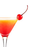 Tequila sunrise alcohol cocktail Stock Photos
