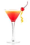 Tequila sunrise alcohol cocktail Royalty Free Stock Photos
