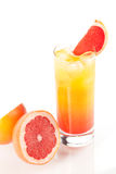 Tequila sunrise alcohol cocktail Royalty Free Stock Photo