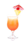 Tequila Sunrise cocktail Royalty Free Stock Photos