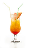 Tequila Sunrise cocktail Stock Photography