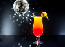 Tequila Sunrise cocktail Stock Photos