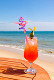 Tequila Sunrise cocktail Royalty Free Stock Image