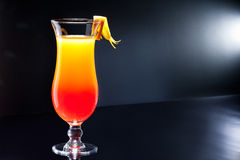 Tequila Sunrise cocktail Stock Photos