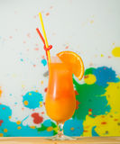 Tequila sunrise coctail Stock Image