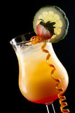 Tequila Sunrise - Most popular cocktails series Royalty Free Stock Image