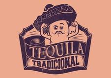 Tequila Tradicional vector illustration