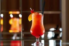 Tequila wschód słońca koktajl Fotografia Royalty Free