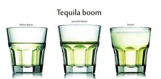 Tequilabangcoctail Fotografering för Bildbyråer