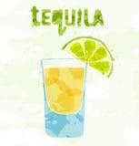 Tequilacocktail Stockfotografie