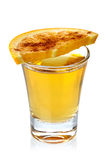 Tequilaschot stock afbeeldingen